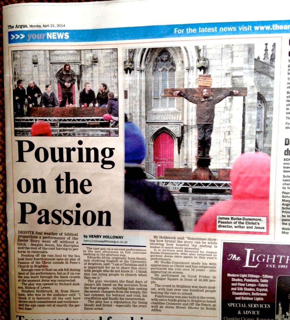 The Argus 21 April 2014 Paper